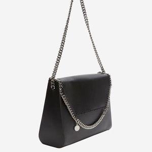 Stella McCartney Structured Chain Shoulder Bag